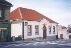 Reconstruction of the bank in Pacov
