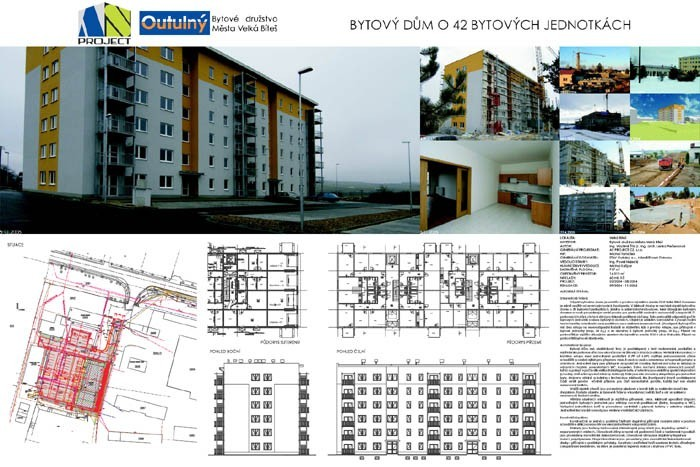 Apartment House With 42 Dwellings Presentation